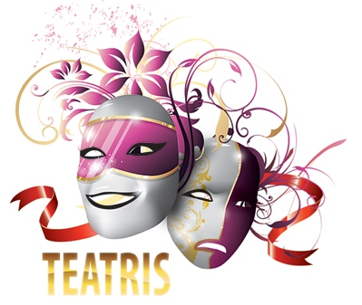 На сцене соединяются сразу несколько искусств - литература, музыка, танец, изобразительное искусство.